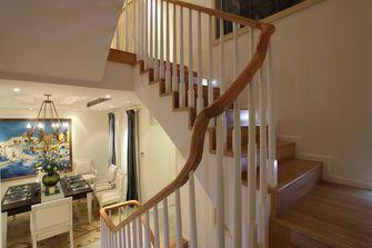 120平米复式地中海风格楼梯间图片