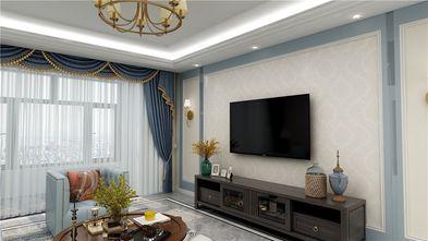 130平米三室两厅地中海风格客厅图片