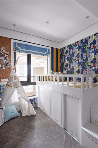 80平米三室两厅法式风格儿童房设计图