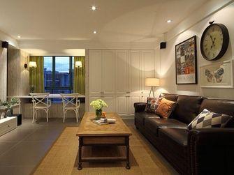 80平米美式风格客厅图片大全