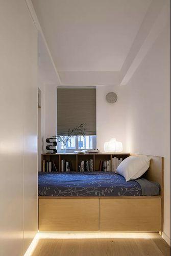 70平米三室一厅北欧风格卧室图片