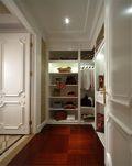 110平米三室一厅英伦风格衣帽间图