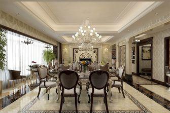 140平米四欧式风格餐厅图片