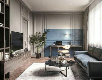 130平米三室三厅其他风格客厅设计图