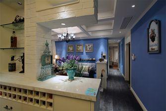 140平米四室四厅田园风格厨房图