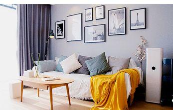 100平米三北欧风格客厅装修图片大全