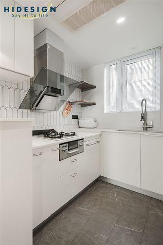 50平米小户型法式风格厨房图