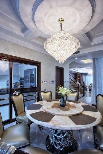 140平米三室一厅欧式风格餐厅装修效果图