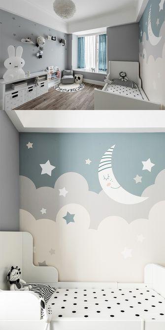 120平米三室一厅美式风格卧室欣赏图