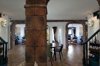 50平米复式田园风格走廊装修图片大全