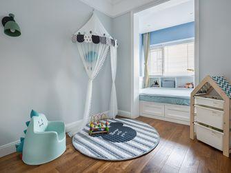 120平米三室一厅现代简约风格儿童房装修案例
