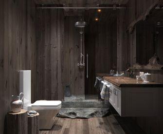 50平米一居室北欧风格卫生间图