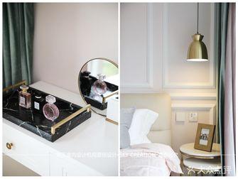 80平米一居室混搭风格客厅装修图片大全