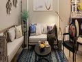 140平米三室两厅田园风格客厅欣赏图