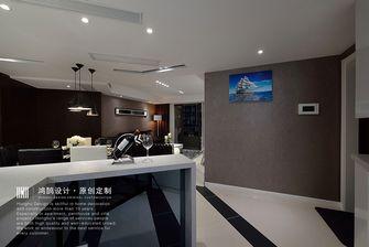 富裕型110平米三室两厅现代简约风格走廊装修图片大全