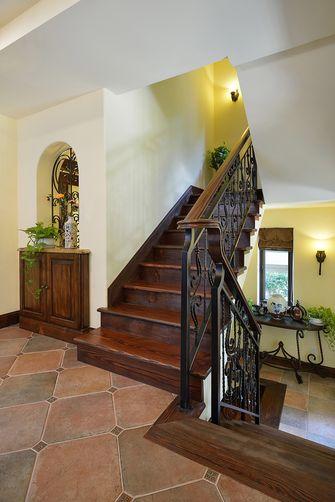 20万以上140平米别墅美式风格楼梯设计图