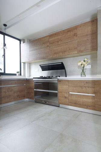 140平米三室两厅北欧风格厨房设计图