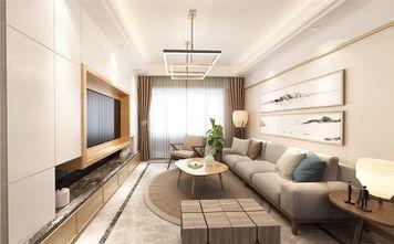 130平米四室两厅中式风格客厅设计图