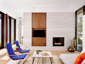 80平米三室两厅混搭风格客厅装修案例