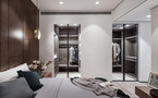 50平米小户型英伦风格卧室装修案例