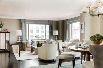 50平米公寓美式风格客厅图