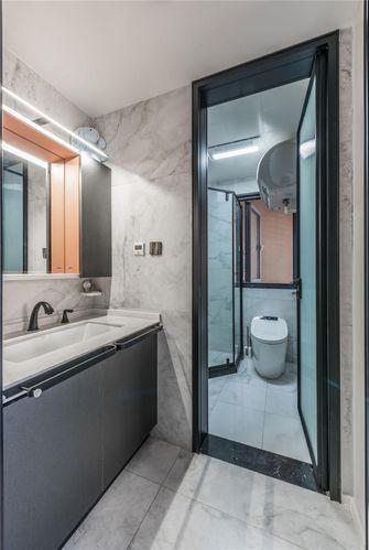 120平米现代简约风格卫生间欣赏图