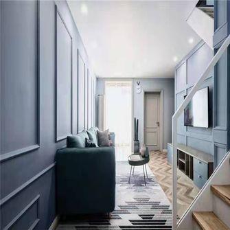 130平米地中海风格楼梯间设计图