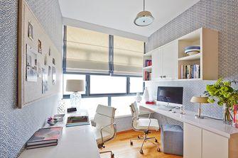 90平米三室两厅新古典风格书房图片