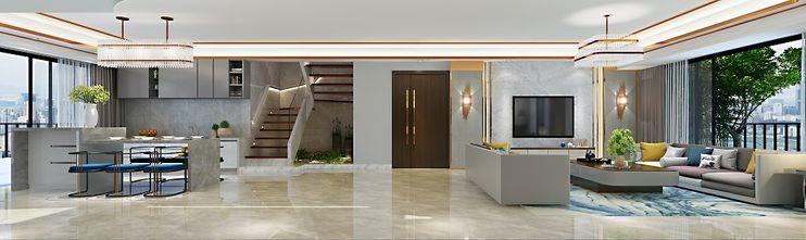 140平米复式其他风格餐厅图片