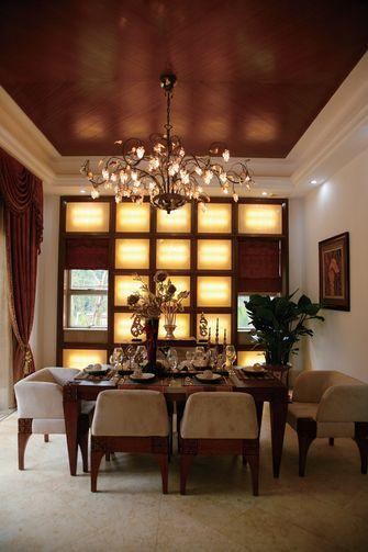 130平米复式东南亚风格餐厅效果图