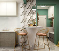 30平米超小户型混搭风格厨房图