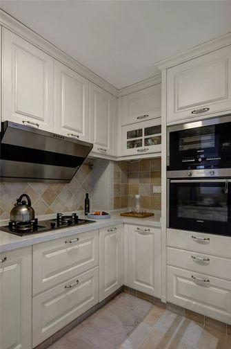 130平米三室一厅美式风格厨房装修效果图
