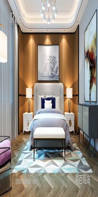 140平米四室四厅新古典风格卧室图片大全