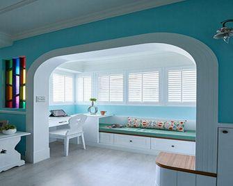 富裕型140平米四室三厅田园风格餐厅效果图