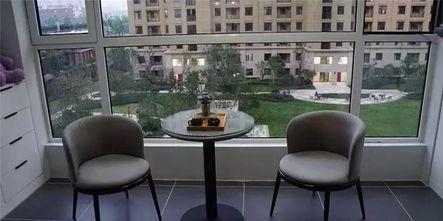 120平米三室两厅现代简约风格阳台图片