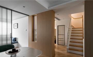 90平米三室两厅现代简约风格楼梯间设计图