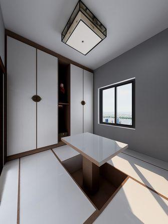 140平米三室两厅中式风格阳光房装修效果图