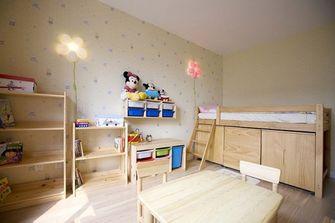 130平米四室一厅田园风格卧室设计图