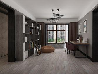 140平米四室三厅现代简约风格书房效果图
