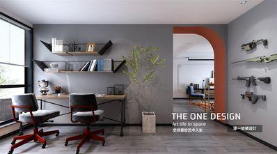 120平米三室两厅混搭风格书房欣赏图