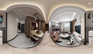 80平米一室一厅欧式风格餐厅欣赏图
