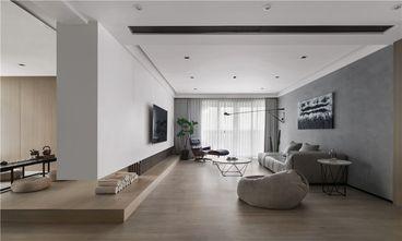 120平米现代简约风格客厅图片大全