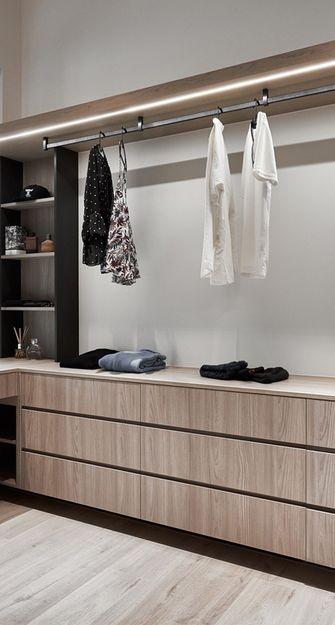 90平米四室两厅英伦风格衣帽间装修案例