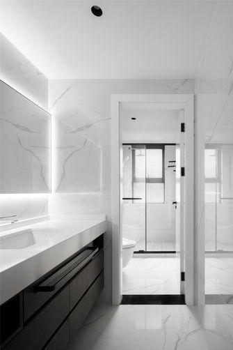 140平米三室四厅现代简约风格卫生间设计图