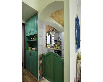 100平米三室一厅田园风格玄关效果图