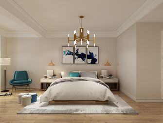 140平米三室两厅北欧风格卧室装修效果图