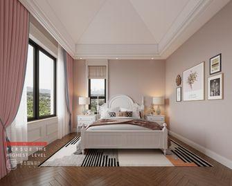 140平米别墅美式风格卧室欣赏图