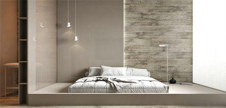120平米三室两厅日式风格卧室装修效果图