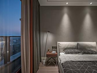 富裕型140平米一室一厅现代简约风格卧室设计图