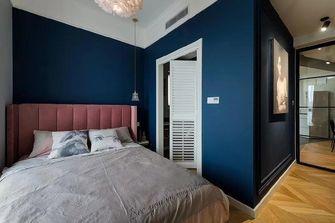90平米一室两厅混搭风格卧室装修案例